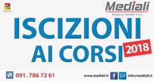 Iscrizioni aperte ai corsi 2018 - Mediali.it