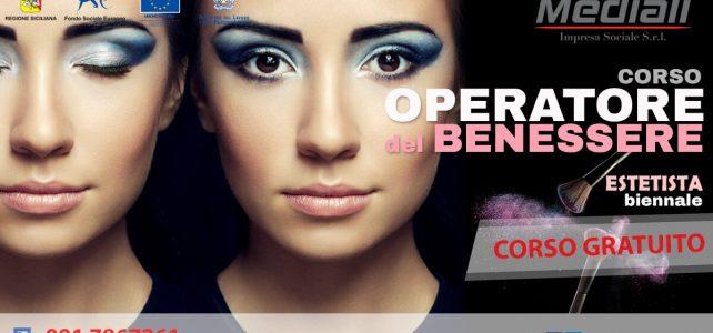 Corso per Operatore del Benessere Estetista Biennale 2018 Gratuito - Mediali.it