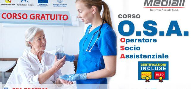 Corso OSA Operatore Socio Assistenziale 2018 Gratuito - Mediali.it