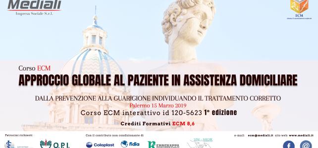 ECM Approccio globale al paziente in assistenza domiciliare