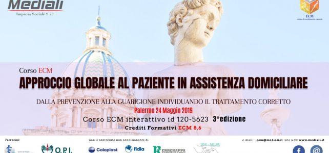 Corso ECM Approccio globale al paziente in assistenza domiciliare 3° Edizione