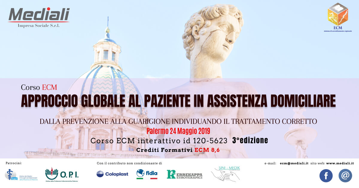 Evento ECM 24 maggio 2019 Mediali.it