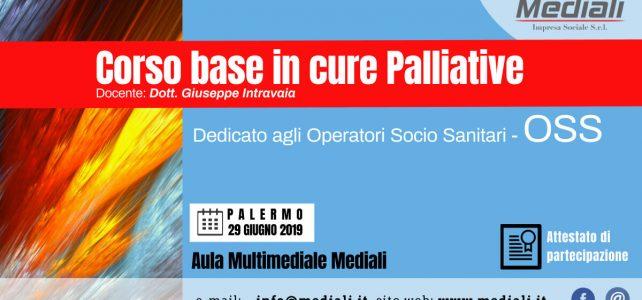 Corso base in vure Palliative - Mediali 29 Giugno 2019